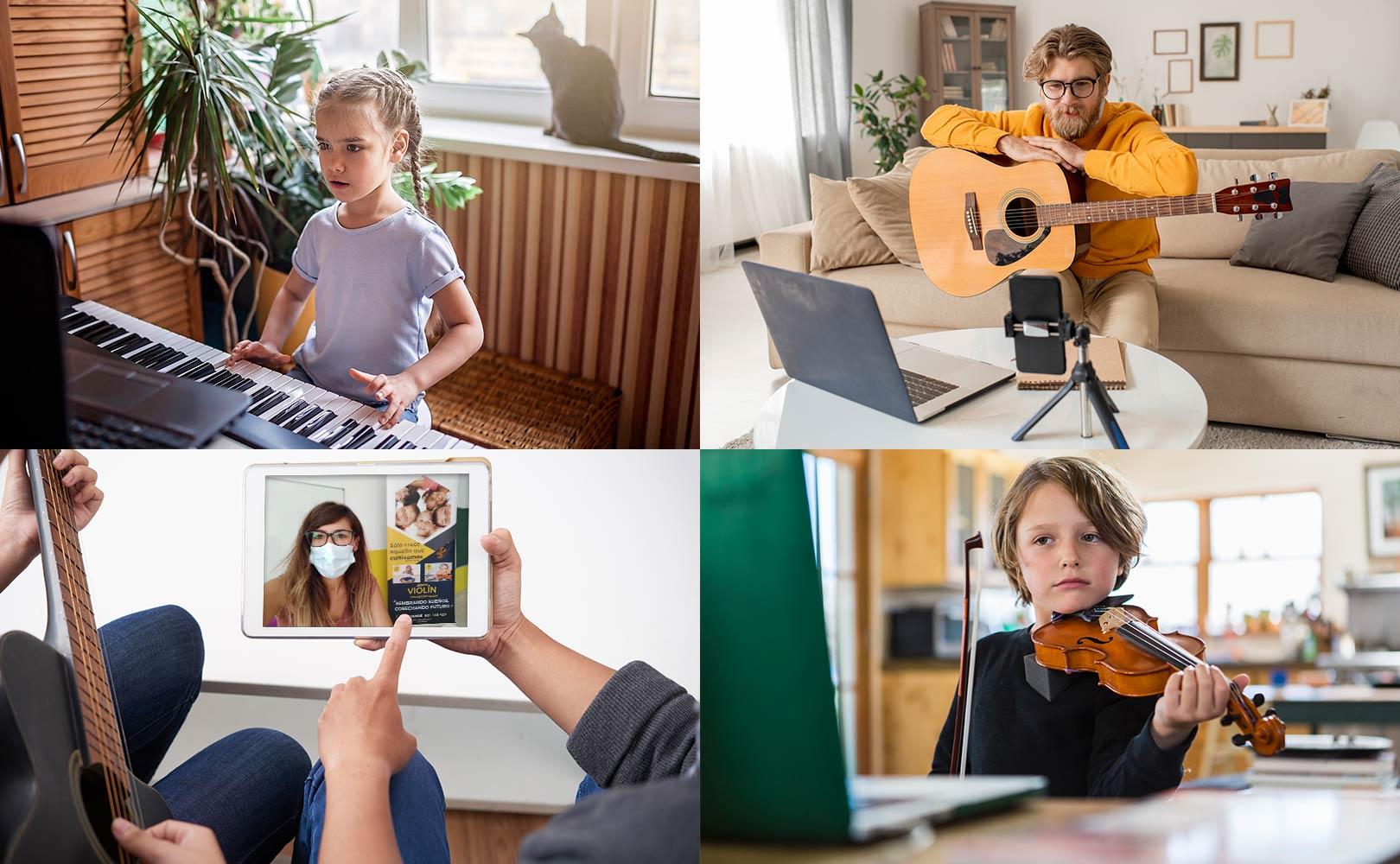 7 notas escuela de musica clases online